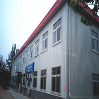 Wholesale Beautiful modern Steel Structure Office Building with Large Space from china suppliers