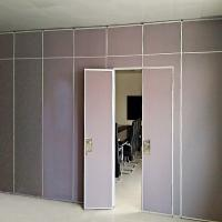 Wholesale Conference Room Activity Screen 65 mm Movable Partition Wall With Pass Door from china suppliers