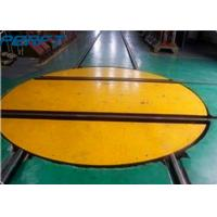 Wholesale Rail Material Handling Turntable which can turn to 360 degrees for warehouse to rotate a trailer from china suppliers