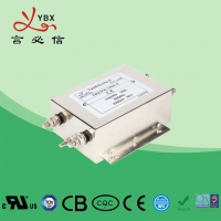 Wholesale YBX Electronic AC Power Noise Filter , 3 Phase Line Filter For Inverter from china suppliers