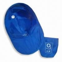 Wholesale Sun Visor/Promotional Hat with Thin Nylon Fabric and Galvanized Steel Wire Rim from china suppliers
