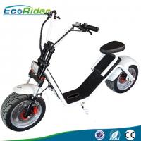 Wholesale EcoRider 1200W 50KM Range 2 Wheel Electric Scooter with Front Suspension for Adult from china suppliers