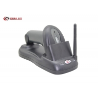 Wholesale Black ABS Case Induction Quick Charging 2D Wireless Barcode Scanner from china suppliers