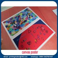 Wholesale Quality Canvas Print Poster Banner for Aluminum Wall Frame from china suppliers