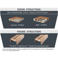 China hollow core plywood flush door on sale