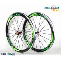 50mm Clincher Bicycle Aluminum Road Bike Wheels With Mrcarbon Logo