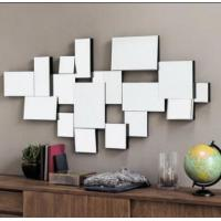 China Decoration 3D Wall Mirror Beautiful Stunning Graphic Design Durable Structure on sale