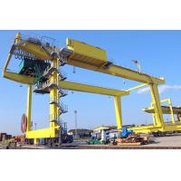 Wholesale 50T Movable Shipping Container Crane , RMG Rail Mounted Gantry Crane from china suppliers