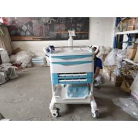 Wholesale ABS Hospital Emergency Drugs Medical Push Cart Medical Storage Carts With Brake Castors Hospital Trolley from china suppliers