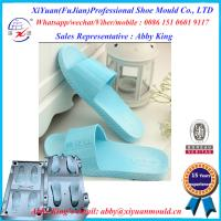 China Factory New Mould Eva Injection Men Size Slippers, Leather Crystal Eva Mould Slipper molds on sale