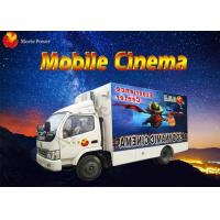 Wholesale 8 / 9 / 12 Seat Theme Film Mobile 5D Cinema With Electric / Hydraulic Platform from china suppliers