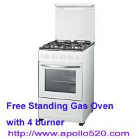 China 4 Burner Gas Stove Cooker Free Standing on sale