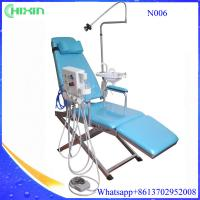 Buy cheap CE & ISO approval LED lamp dental Turbine folding chair unit with spittoon N006 from wholesalers