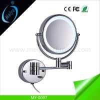 China wall mounted double side LED makeup mirror on sale