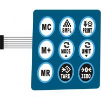 Wholesale Silicone Rubber LED Backlit Membrane Switch Keypads For Air Conditioner from china suppliers