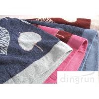 Wholesale Reactive Dyes Colorful Bath Towels Pure Cotton , Adult Bath Towels Quick Dry from china suppliers