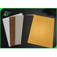 China FSC Approved 1100gsm Uncoated Book Binding Board For Folder High Hardness on sale