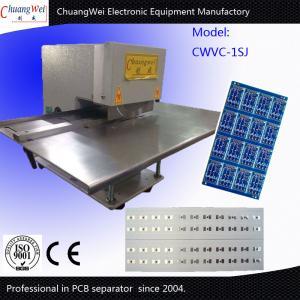 China Two Circular Blades V-Cut PCB Separator For Led Lighting T8 Tube Aluminium on sale