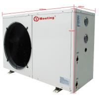 Wholesale 12KW Electric Air Source Heat Pump Galvanized Steel Sheet Compact Structure from china suppliers