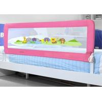Wholesale Pink Mesh Bed Side Rails / Queen Size Bed Rails For Bunk Beds from china suppliers
