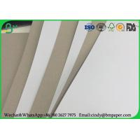 Wholesale 700 * 1000mm Grey Back Duplex Board , 300gsm 350gsm Coated Duplex Paper Board from china suppliers
