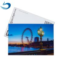 Wholesale Scenery 3D Lenticular Postcard / Promotional Gift Cards Size 11*16cm from china suppliers