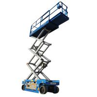 Wholesale Vertical 6m Electric Scissor Lift Aerial Construction Work 1.86*0.76*2.19m from china suppliers