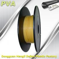 Wholesale Water Soluble Support Material PVA 3D Printing Filament 1.75 / 3.0 mm Natural from china suppliers