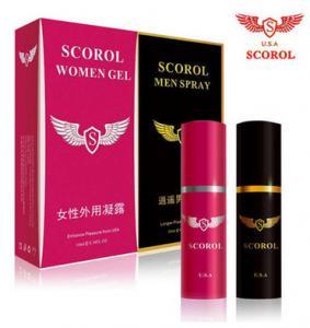 China Scorol Women Gel Spray Oil Delay Spray Female Enlargement Oil Delay Spray on sale