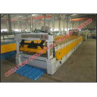 Wholesale Trapezoid Shape Steel / Aluminium Roof Panel Roll Forming Machine 1200 meters / hour from china suppliers