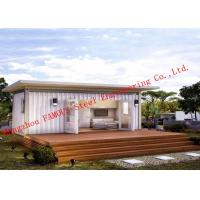 China Lightweight 40ft Prefab Container House For Living Accommodation With Painted Surface on sale
