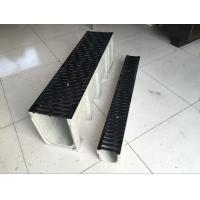 20years be used stone colour Polymer Drain Trench (1000*250*205mm)for Square and Station etc with black ductile Cover