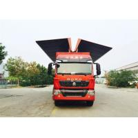 Buy cheap 8X4 LHD Wing Van Cargo Truck Cargo Large Loading Capacity Commercial Vehicles from Wholesalers