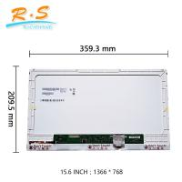Buy cheap Slim 15.6'' Laptop LCD Screen B156xw04 V5 With 40pin Interface from wholesalers