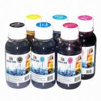 Wholesale Art Paper Ink for Epson, Black/Cyan/Magenta/Yellow/Photo Cyan/Photo Magenta, 100mL from china suppliers