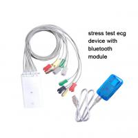 Wholesale Bluetooth Stress Electrocardiogram Test equipment with treadmill and ergometers iCV1200 from china suppliers