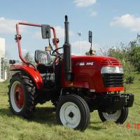 China Compact Four Wheel Lawn Tractor JM200E 20hp 2wd Agricultural Farm Tractor