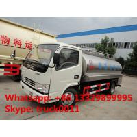 factory direct sale dongfeng brand 8,000L milk tank truck, hot sale dongfeng 8,000L stainless steel liquid food truck