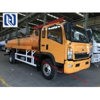 Wholesale Vacuum Sewer Cleaning Sewage Suction Truck SINOTRUK 4x2 10 - 12m3 from china suppliers