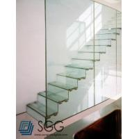 Buy cheap clear tempered glass railing/balustrade/fence 8mm 10mm 12mm 15mm 19mm from Wholesalers