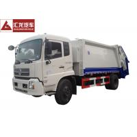 Wholesale Dongfeng Garbage Compactor Truck 4x2 Low Noise High Assembly Accuracy from china suppliers