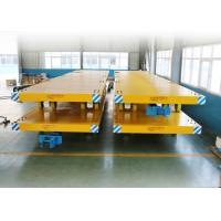 Wholesale Basic Metals Heavy Duty Plant Trailer / Material Transfer Trolley Simple Structure from china suppliers