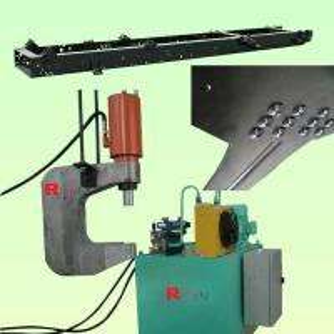 Buy cheap Chassis riveting machine,Hanging riveting machine,Movable riveting machine,C-frame riveting machine,Hydraulic riveter from wholesalers