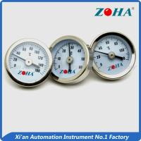 Wholesale 25mm High Temperature Dial Thermometer / Pipe Mount Bimetallic Coil Thermometer from china suppliers