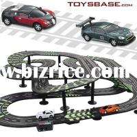 Wholesale two floor emulation wooden toy parking garage (play toys) from china suppliers