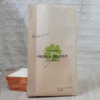Wholesale Food Grade Custom Kraft Paper Bag Packaging Stand Up For Bread / Cake from china suppliers