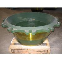 Buy cheap high manganese steel casting Kawasaki concave and mantle with Mn13Cr2 Mn18Cr2 from wholesalers