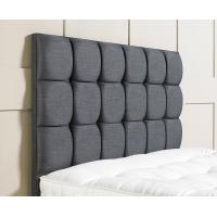 Wholesale Grey Fabric Tufted Hotel Furniture Headboard , Hotel Style Bed Headboards from china suppliers