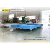 Quality Heavy Material Industrial Motorized Carts / Battery Transfer Cart Emergency Stop for sale