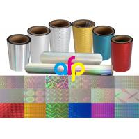 Wholesale Colorful / Transparent Laser Holographic Film With Patterns 180 - 1880mm Width from china suppliers